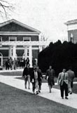 1957 YEARBOOK: STUDENTS CHANGING CLASSES