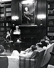 FAULKNER IN MCGREGOR ROOM, 1961