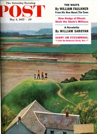 COVER,4 MAY 1957 POST
