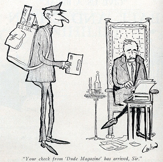 Image result for william faulkner cartoon