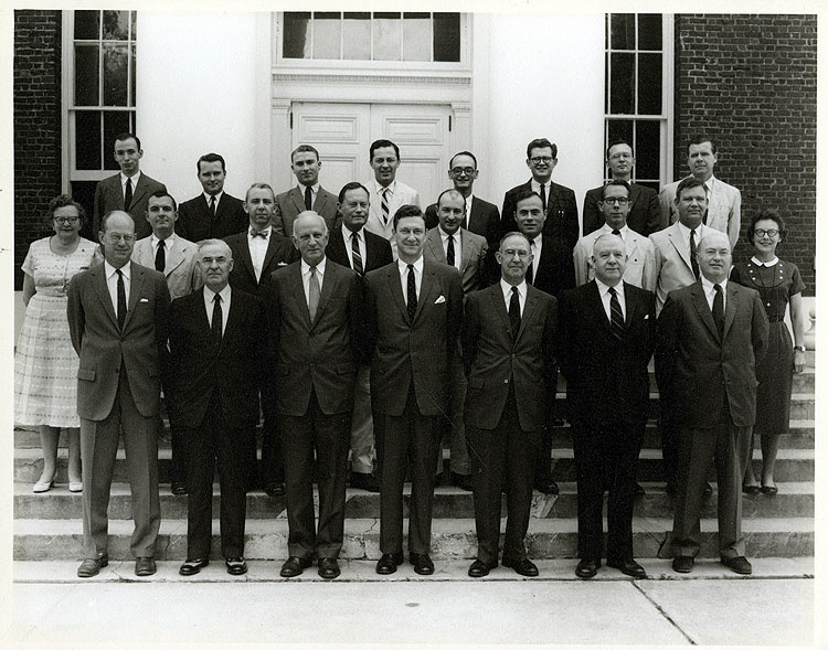 UVA ENGLISH DEPT 1960