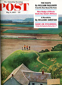 4 MAY 1957 POST COVER