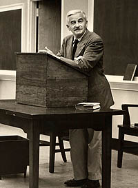 FAULKNER IN CABELL HALL